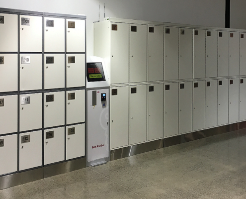 Rent A Locker - Luggage Lockers Brisbane Airport DFO Skygate