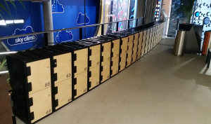 Rent A Locker - Plastic Hire Lockers at Skyzone Trampoline Park