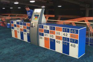 Rent A Locker - Timber Hire Lockers at Skyzone Trampoline Park