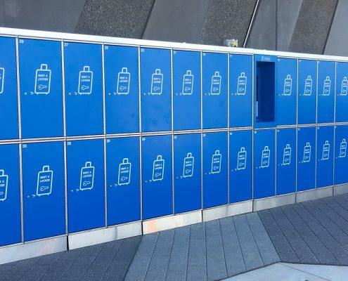 DFO Perth zLuggage Lockers
