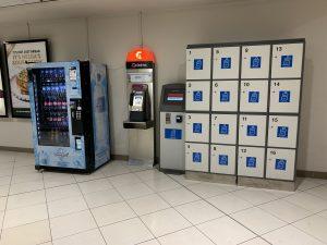 Bagagge Rent A Locker at Brisbane CBD Myer Center