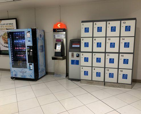 Bagage Rent A Locker at Brisbane CBD Myer Center